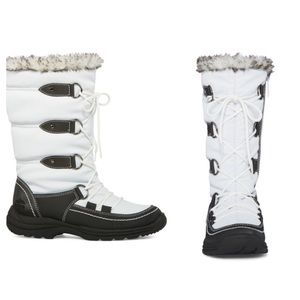 Last One-Totes Waterproof Emily III Faux-Fur Boots